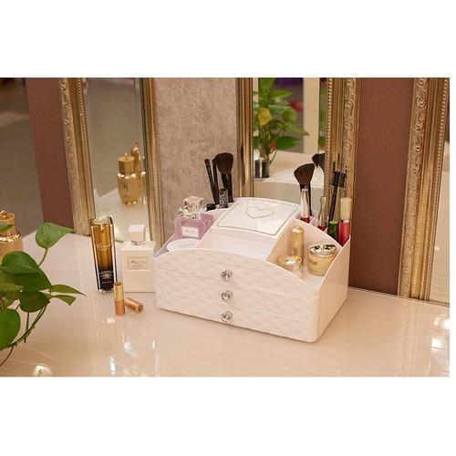 Hộp đựng mỹ phẩm cao cấp có gương soi, tủ đựng đồ trang điểm - 4979919 , 8624198 , 15_8624198 , 550000 , Hop-dung-my-pham-cao-cap-co-guong-soi-tu-dung-do-trang-diem-15_8624198 , sendo.vn , Hộp đựng mỹ phẩm cao cấp có gương soi, tủ đựng đồ trang điểm