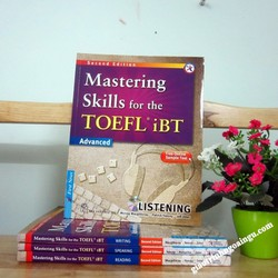 Sách Mastering skills for the Toefl iBT Advanced Listening - Kèm CD
