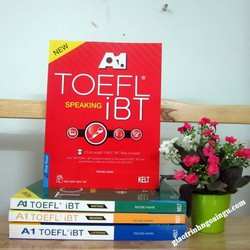 Sách A1 Toefl iBT Speaking - Kèm CD