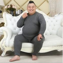 NG0196 - Bộ quần áo nam mặc nhà lót nỉ co giãn cho người béo -giá 590k