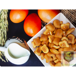 BÁNH GẤU NHÂN KEM - TÚI 500 GRAM | Ăn đi em food