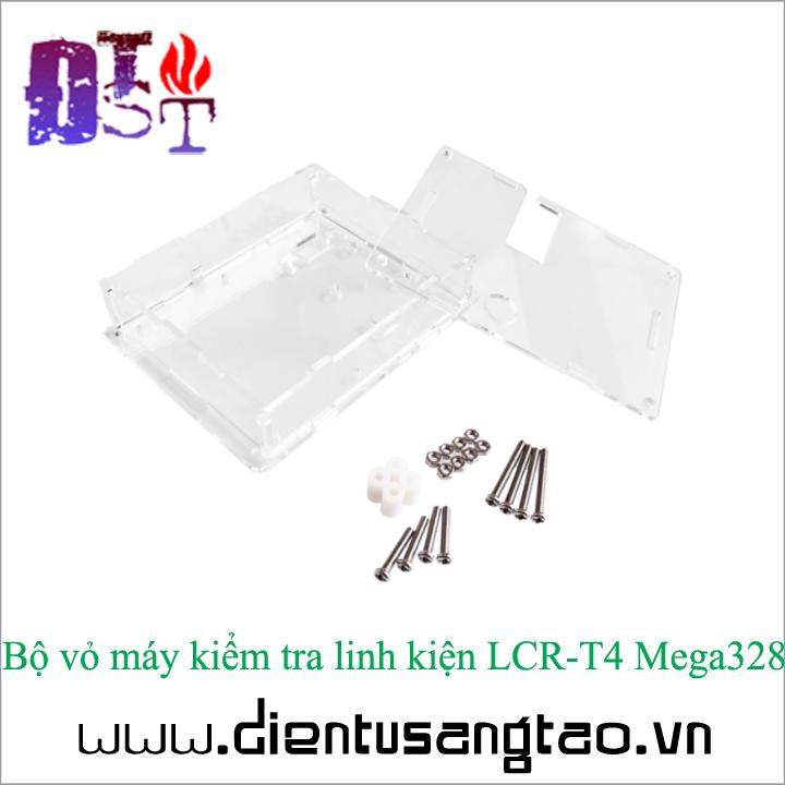 Bộ vỏ máy kiểm tra linh kiện LCR-T4 Mega328 3