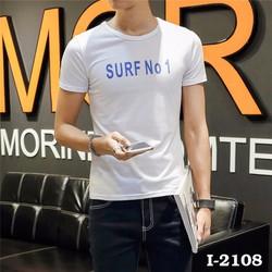 Áo Thun Nam Tay Ngắn SURF No 1 CO GIÃN 4 CHIỀU HÀNG XUẤT KHẨU