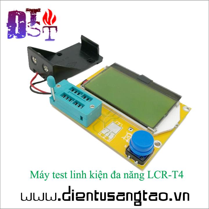 Máy test linh kiện đa năng LCR-T4 2