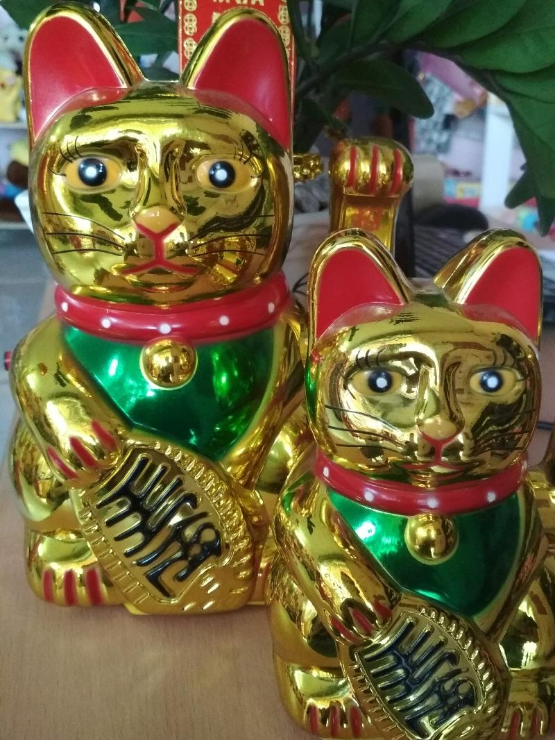 Mèo Thần Tài Vẫy Tay- Mèo Lớn 22cm 4