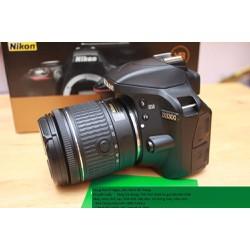 Máy ảnh nikon D3300  lens AF-P DX Nikkor 18-55mm