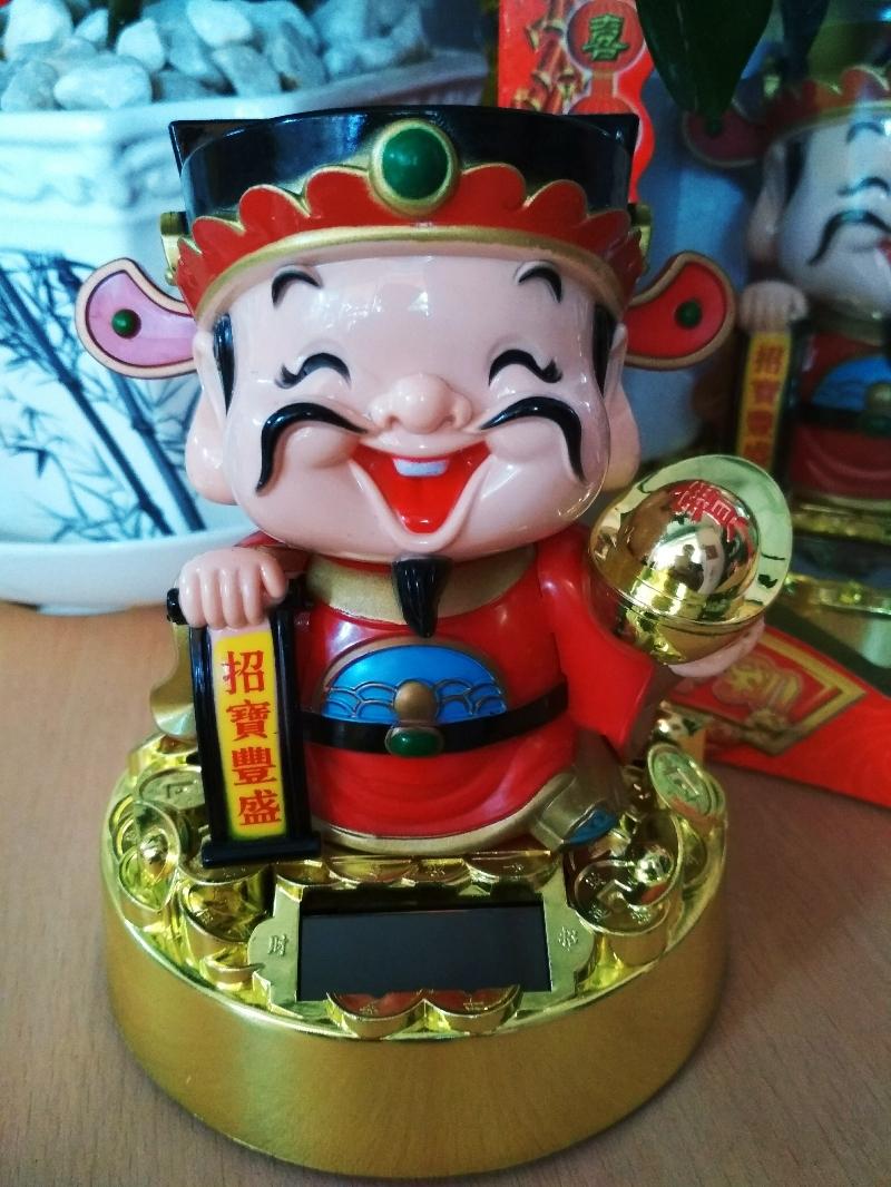 Thần Tài May Mắn -Gật Đầu Đón Lộc 3