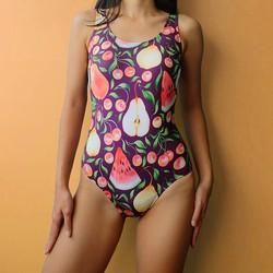 Áo bơi Bodysuit họa tiết dưa hấu Salt Swimwear