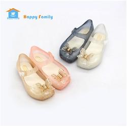 [Về 4 màu] Giày nhựa jelly giày đi mưa búp bê bé gái con bướm