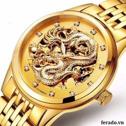 đồng hồ rồng nổi 3D