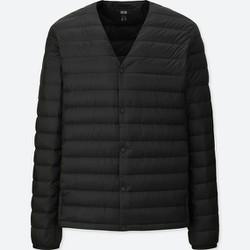 Áo lông vũ Uniqlo nam cổ tim Nhật Bản - 400501