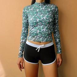 Set áo bơi tay dài quần short Salt Swimwear
