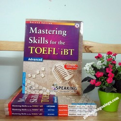 Sách Mastering skills for the Toefl iBT Advanced Speaking - Kèm CD