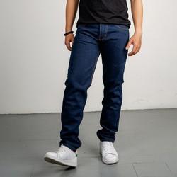 Quần jean nam xanh đen Q61 vải dày chất jean tốt MuiDoi