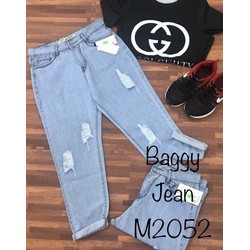 quần jean baggy nữ rách