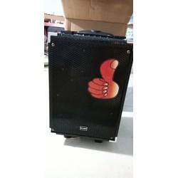 loa karaoke cực hay thùng gỗ bass mạnh ấm tặng mic không dây
