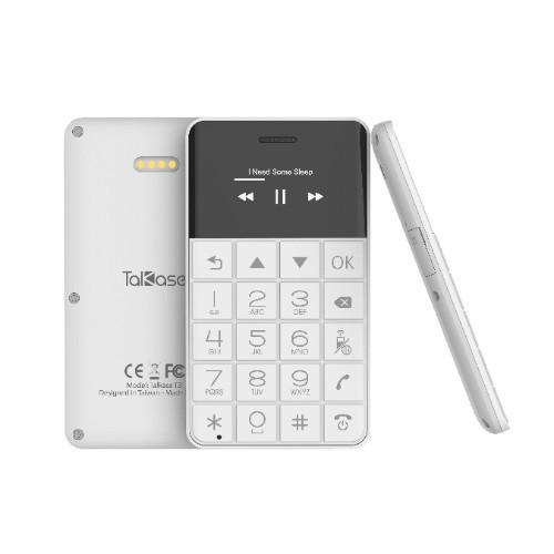 Điện thoại mini siêu mỏng TalKase T3, siêu nhỏ gọn, tiện lợi Trắng