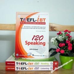 Sách Toefl iBT 120 Speaking - Kèm CD
