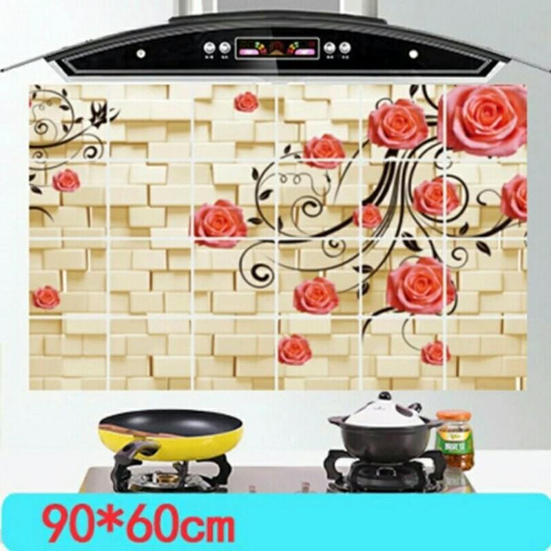 Bộ 2 miếng dán cách nhiệt nhà bếp size lớn 60x90cm 2