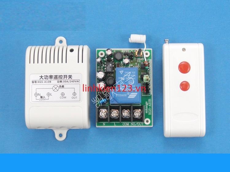 Bộ điều khiển thiết bị điện từ xa 1 kênh 220V công suất lớn 1
