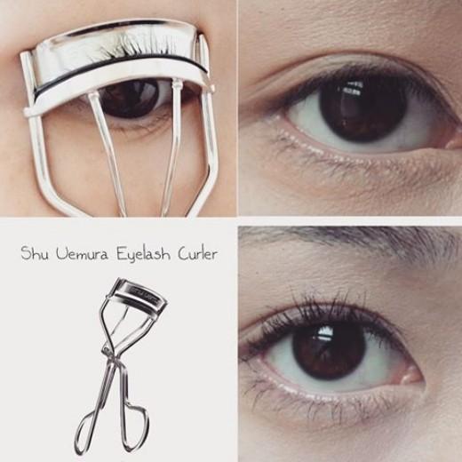 Kết quả hình ảnh cho Kẹp bấm mi Shu Uemura Eyelash Curler