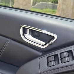 vòng dán trang trí cửa xe hơi LUXGEN 4 cái