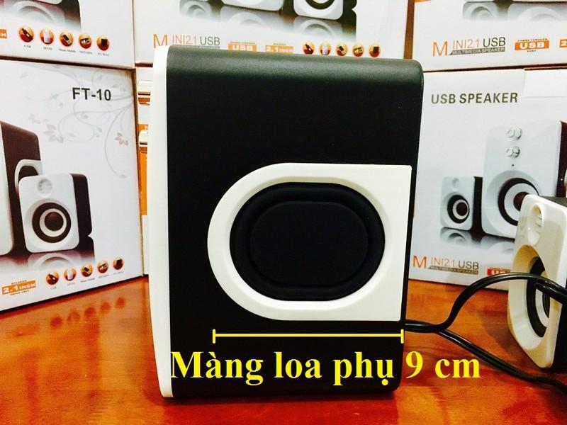 Loa Nghe Nhạc Điện thoại, Máy tính, PKCB-201 Speakers 6