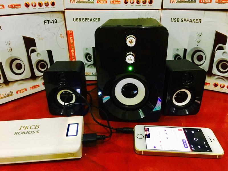 Loa Nghe Nhạc Điện thoại, Máy tính, PKCB-201 Speakers 4