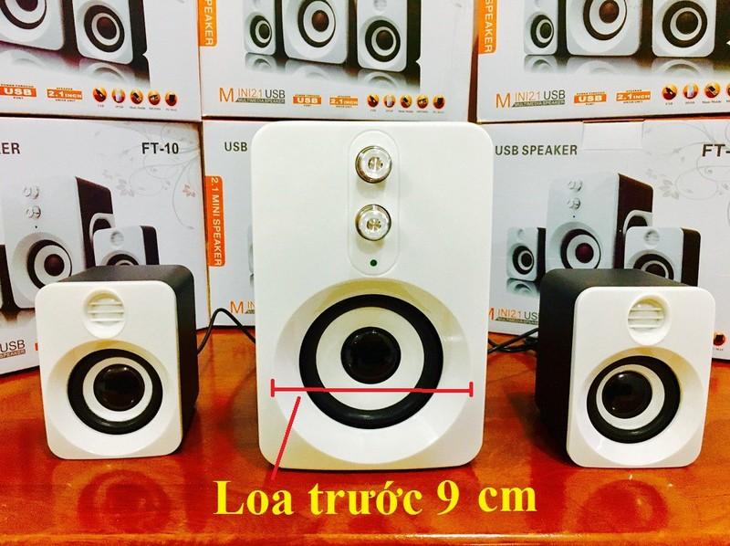 Loa Nghe Nhạc Điện thoại, Máy tính, PKCB-201 Speakers 10