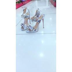 giày cao gót đinh thời trang 12cm