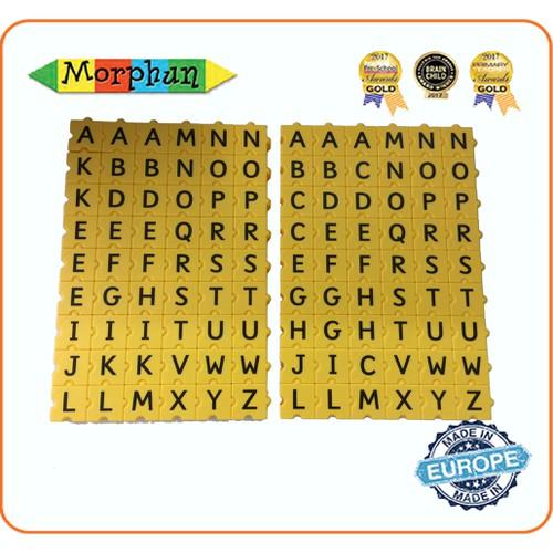 Bộ ghép chữ nhập khẩu Châu Âu Morphun 3DXWord Set - 10568528 , 8643017 , 15_8643017 , 1269000 , Bo-ghep-chu-nhap-khau-Chau-Au-Morphun-3DXWord-Set-15_8643017 , sendo.vn , Bộ ghép chữ nhập khẩu Châu Âu Morphun 3DXWord Set