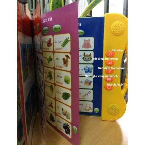 [Tặng bút tự xóa + bộ thước vẽ sáng tạo] Sách điện tử song ngữ Anh - Việt cho trẻ em từ 3 đến 10 tuổi