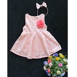 Đầm ren công chúa đi tiệc cho bé 1-5 T