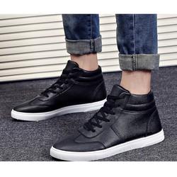 Giày nam bata viền chỉ cổ cao - Giày sneaker nam