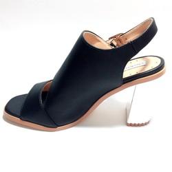 Giày Sandal Nữ Gót Cao 9cm, Thiết Kế Chuẩn Form Rất Xinh Và Hiện Đại