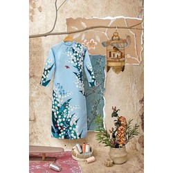Áo dài hoa Linh Lan