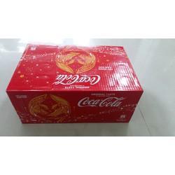 Nước ngọt có ga coca cola worldcup hương vị original thùng 24 lon