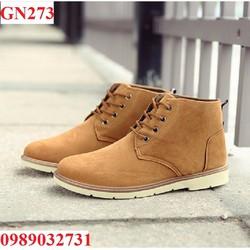 Giày bốt nam cổ thấp - GN273