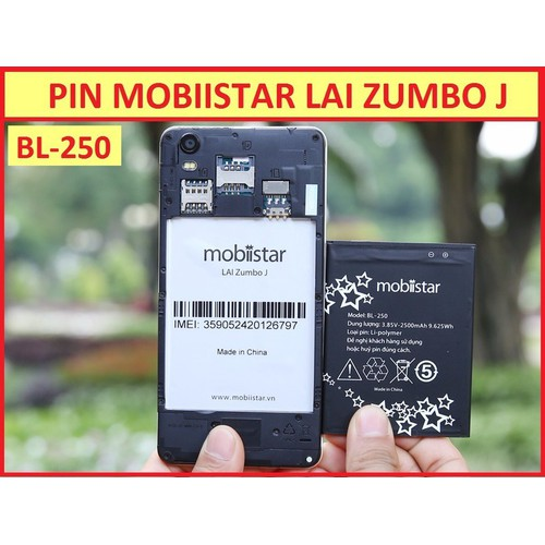 PIN MOBIISTAR BL-250