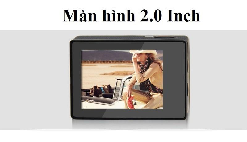Camera hành trình, hành động Sport cam Wifi 4K ULTRA HD 13