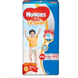 TÃ QUẦN HUGGIES XXL44 tặng 6 quần