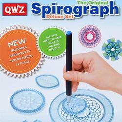 Bộ thước vẽ sáng tạo Spirograph - Thước vẽ hình, kĩ thuật