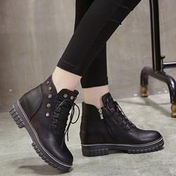 Giày boot nữ phong cách cá tính B108D