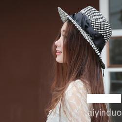 nón phớt đẹp, mũ cói cao cấp, mũ thời trang, mũ phớt thắt đai lụa