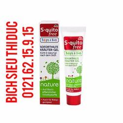Kem bôi đặc trị muỗi đốt và côn trùng cắn cho trẻ em S-quito free 15ml