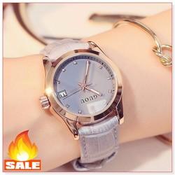 Đồng hồ nữ GU HÀNG CHÍNH HÃNG 8076 dây da size mặt nhiều màu size 30mm