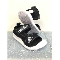 Giày sandal baby nối chuyền viền Đen