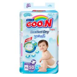 Bỉm dán Goon Renew Slim XL50