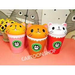 Squishy coffee mèo chậm tăng hàng Thái