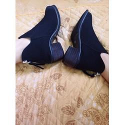 Boot nữ da lộn Hàng Quảng Châu